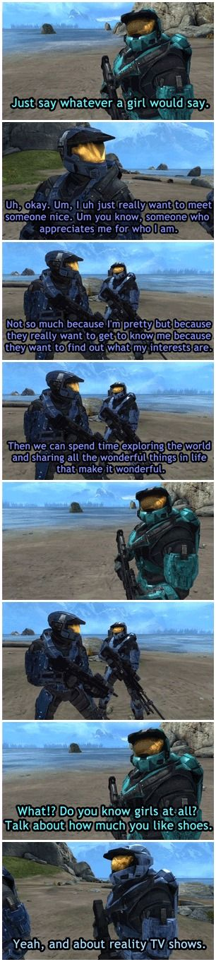 Sometimes Caboose isn't the stupid one.