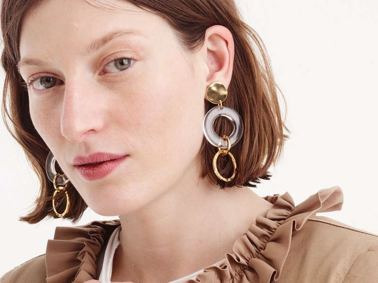 Jewelry Trend: Sculptural Earrings for Fall 2019
