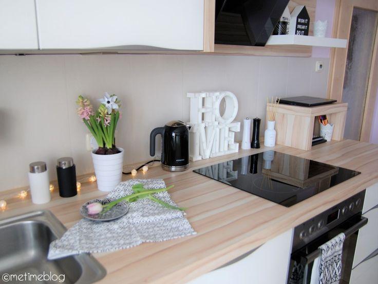 25+ ide Küche schwarz weiß terbaik di Pinterest Küche hochglanz - küche hochglanz weiss