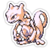 Mewtwo evolution  Sticker