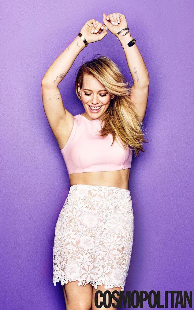 Hot damn! Hilary Duff looks sexier than ever for Cosmopolitan magazine!