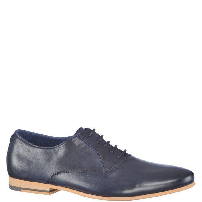 Pantofi casual pentru barbati. Sunt din piele naturala, au interiorul din piele naturala iar inchiderea se face cu siret subtire cerat.