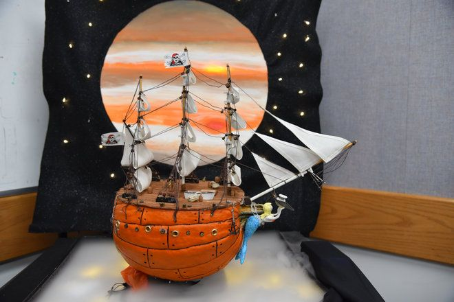 NASA's Pumpkin-Carving Contest: Take a Look at Rocket Scientists' Astounding Creations