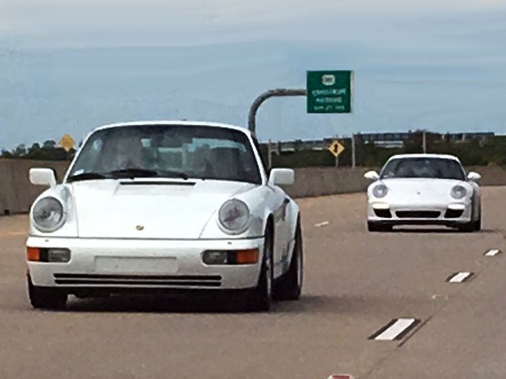 "White 1989 Porsche 911 Carrera 4 (964) White 2011 Porsche 911 Carrera S (997) ""White Car Wednesday"" (Photo by Bill Orr) ----------------------------------------------- #MavPCA #PCA #PorscheClub #PorscheLife #PorscheClubOfAmerica #Love #Porsche #porschelovers #PorscheLife #PorscheCars #Porsche911 #Porsche911Carrera #911Carrera #911 #Carrera #964 #photooftheday #picoftheday #instagood #follow #luxury #car #speed #drive #Fast #Street #SportsCar #SuperCar #ExoticCar"
