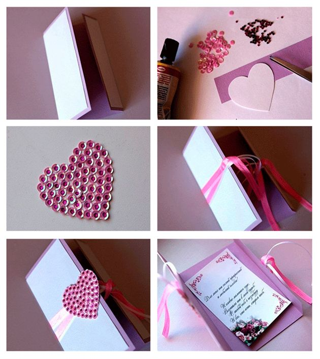 valentine's day gift note