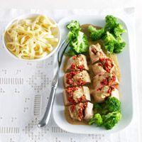 Varkenshaas met Italiaanse vulling uit de oven - Recepten - Recepten - C1000