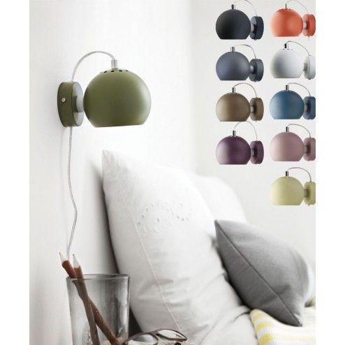 Frandsen ball wall matt, designbelysning.no