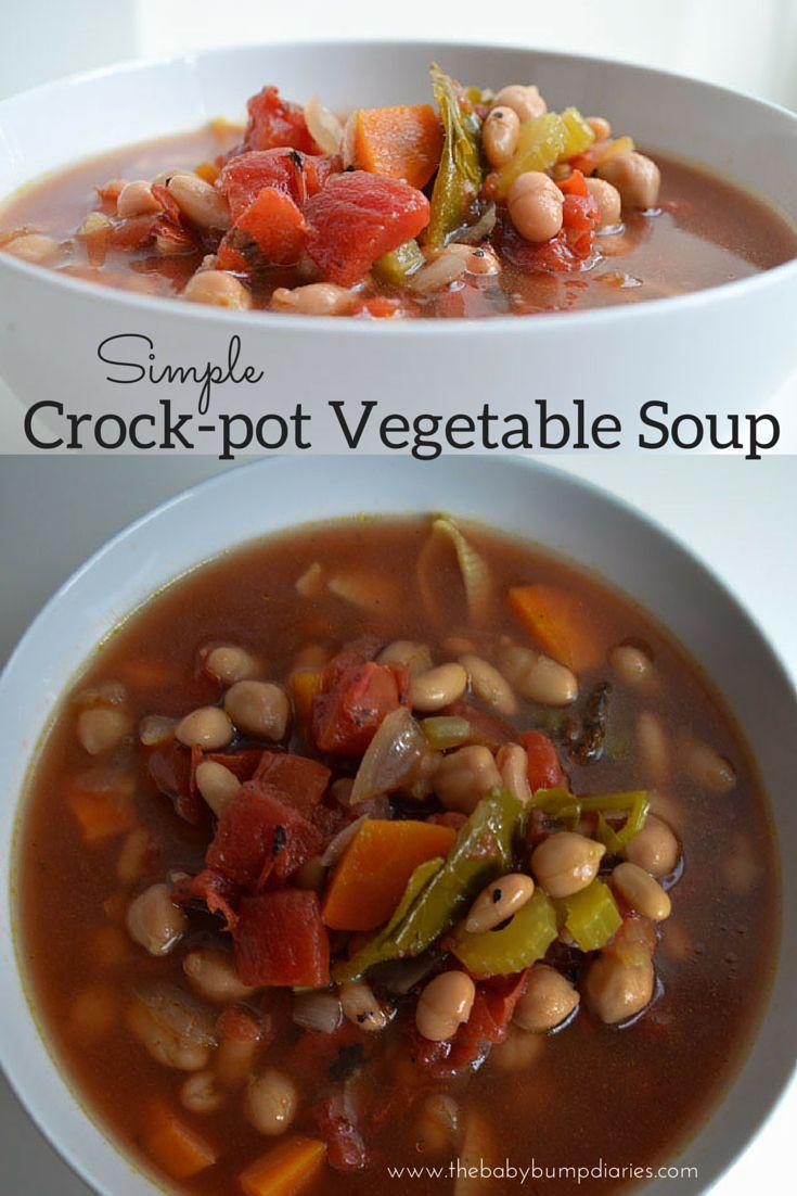 Crock Pot Vegetable Soup