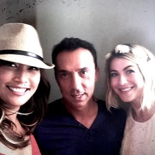 """Carrie Ann Inaba's photo : """"Len had to leave early"""" Good times with Julianne Hough and Bruno Tonioli"""
