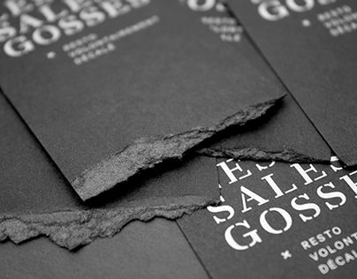 "Popatrz na ten projekt w @Behance: ""Branding - Les sales gosses "" https://www.behance.net/gallery/17855613/Branding-Les-sales-gosses-"
