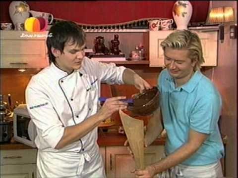 Шоколадные фигурки - YouTube
