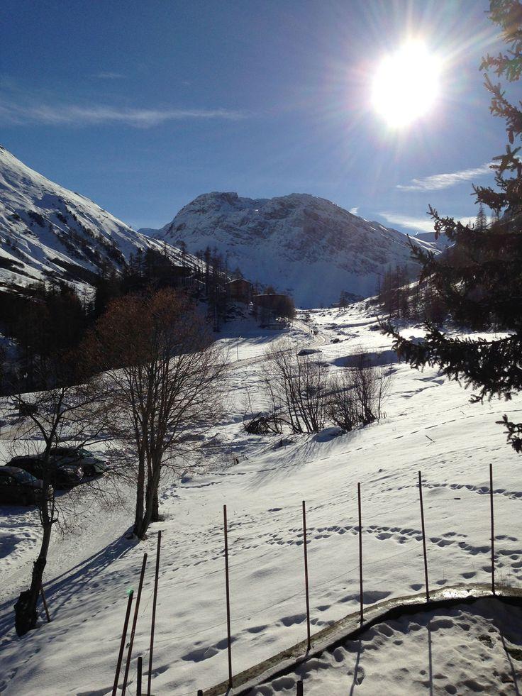 Vallée du manchet au dessus de Val d'Isère