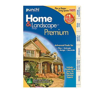 NIB PUNCH SOFTWARE HOME LANDSCAPE DESIGN PREMIUM V17 NEW Factory Sealed Box