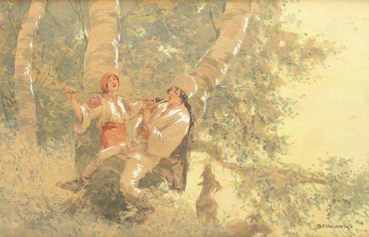 Ignat Bednarik - Idilă în pădurea de fagi