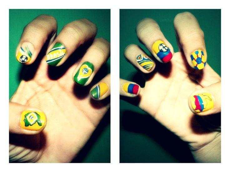 #Colombia #Brasil