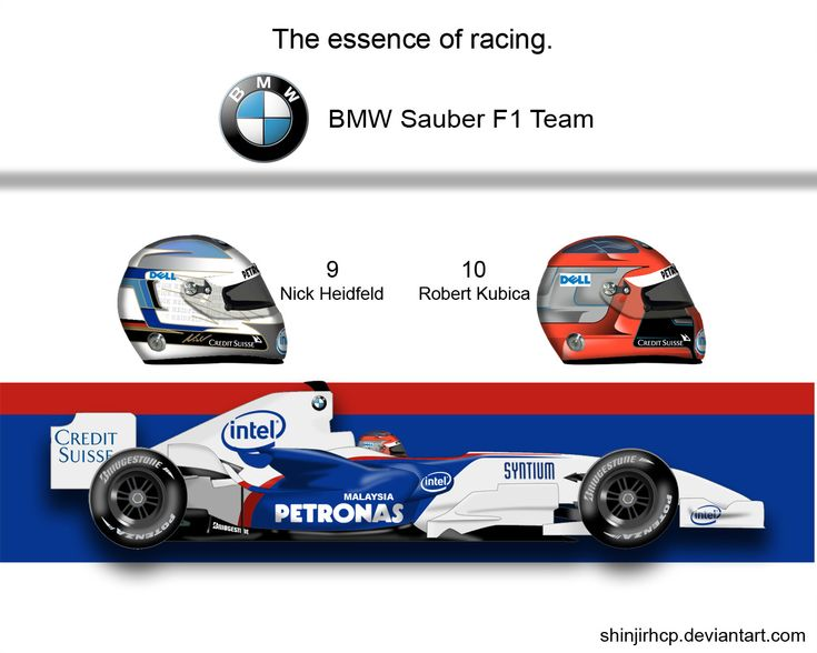 Bmw Sauber F1.07 by ShinjiRHCP.deviantart.com on @deviantART