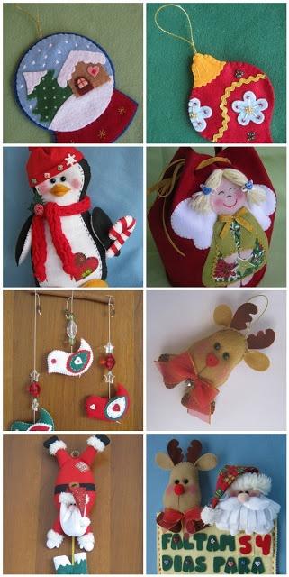 Arte e Mimos - Artesanato em feltro: Apostila de Natal 2012!!! No site tem muitas outras coisas de Natal