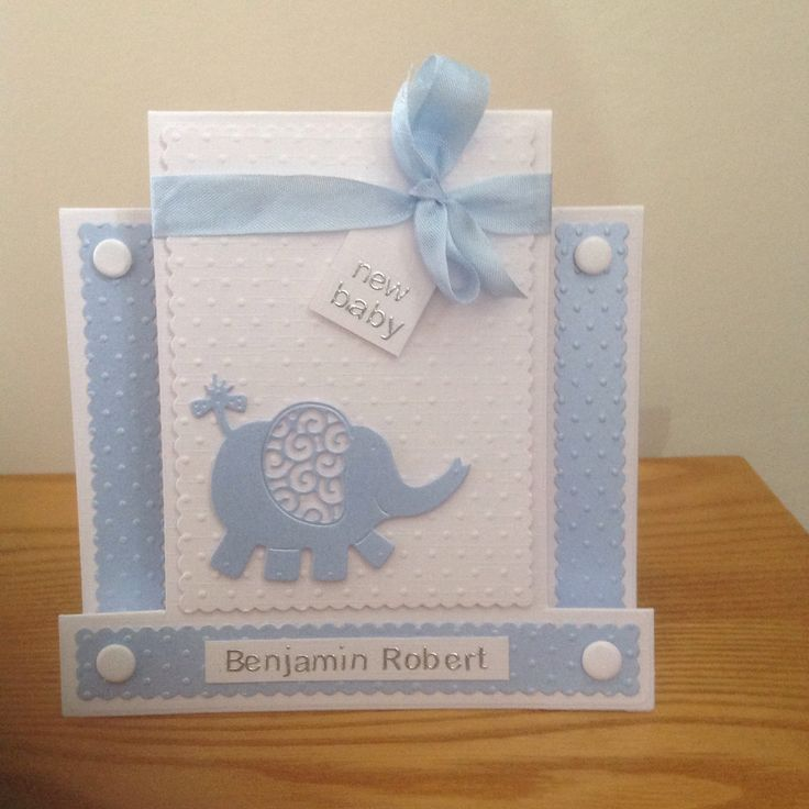 Stepper card made with Tattered Lace elephant