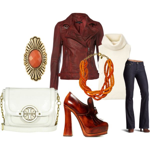 Shades of rust., created by karena-woods on Polyvore