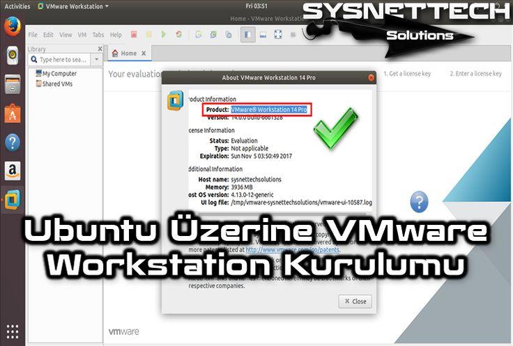 █ Ubuntu VMware Workstation  #VMware #VMwareWorkstation #Sistem #Ağ #Bilişim #Bilgisayar #Ubuntu #Linux #Ubuntu1710 #VMwareWorkstation14 #VMwareİndir #Kurulum #Yapılandırma #VMwareKurulumu #Teknoloji
