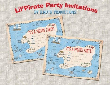 Pirate birthday party.Pirates Invitations, Printables Pirates, Birthday Parties, Pirates Birthday, Pirates Parties, Parties Ideas, Parties Invitations, Parties Printables, Free Printables
