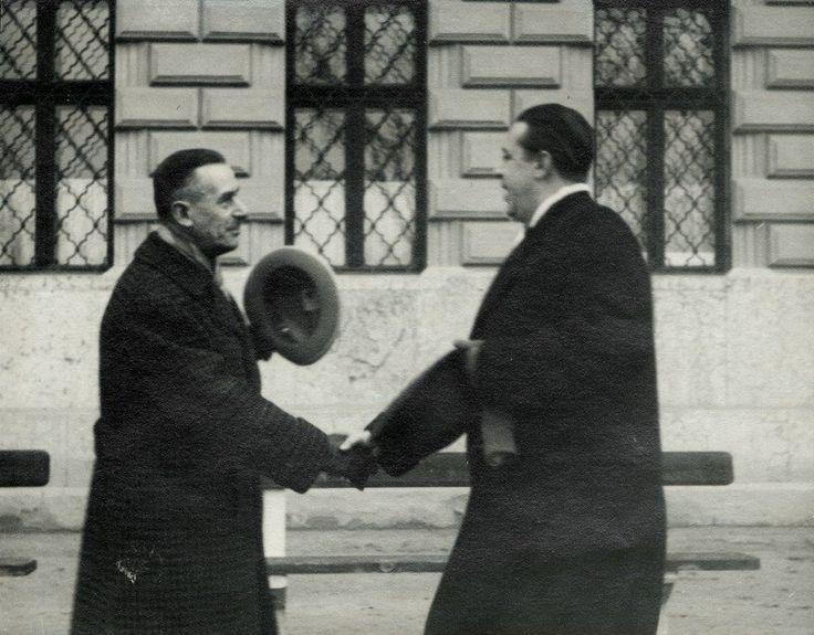 Thomas Mann és Márai Sándor - Budapest, 1935.