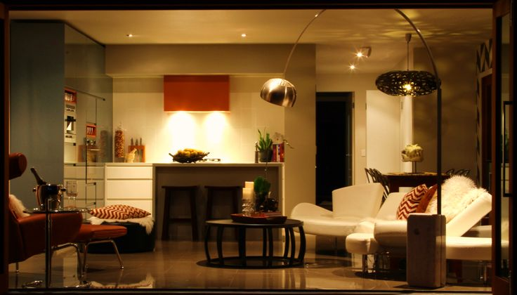 Open plan living - See more at www.thenakedhouse.com.au