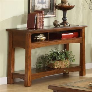 Riverside Craftsman Home Sofa/Console Table