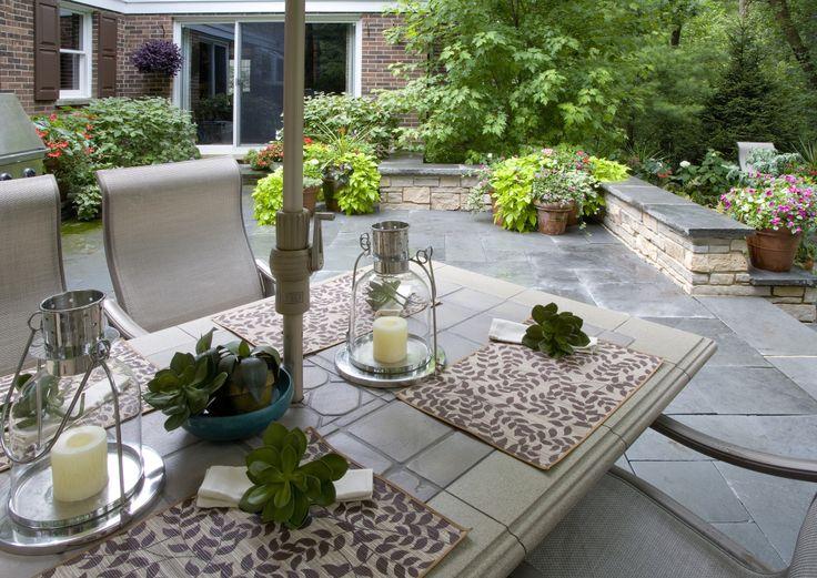 Outdoor Living, Bluestone Patio, Seatwall, Photo By Linda Oyama Bryan