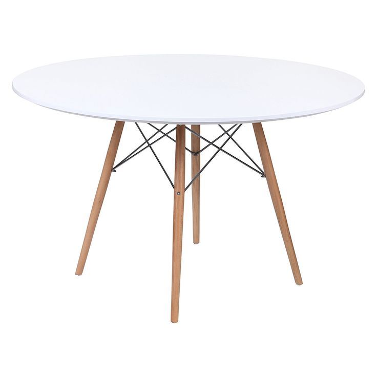 Replica Eames Eiffel DSW Round Dining Table By Charles Ray