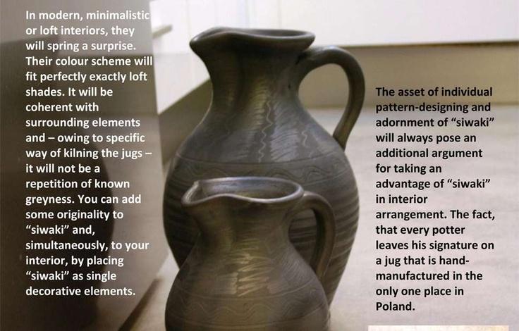 The oldest Polish ceramics in modern interiors