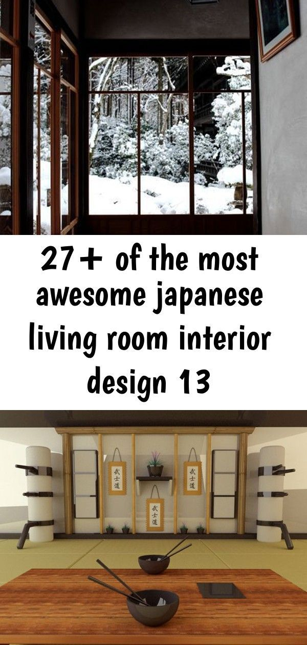 27 Of The Most Awesome Japanese Living Room Interior Design 13 27