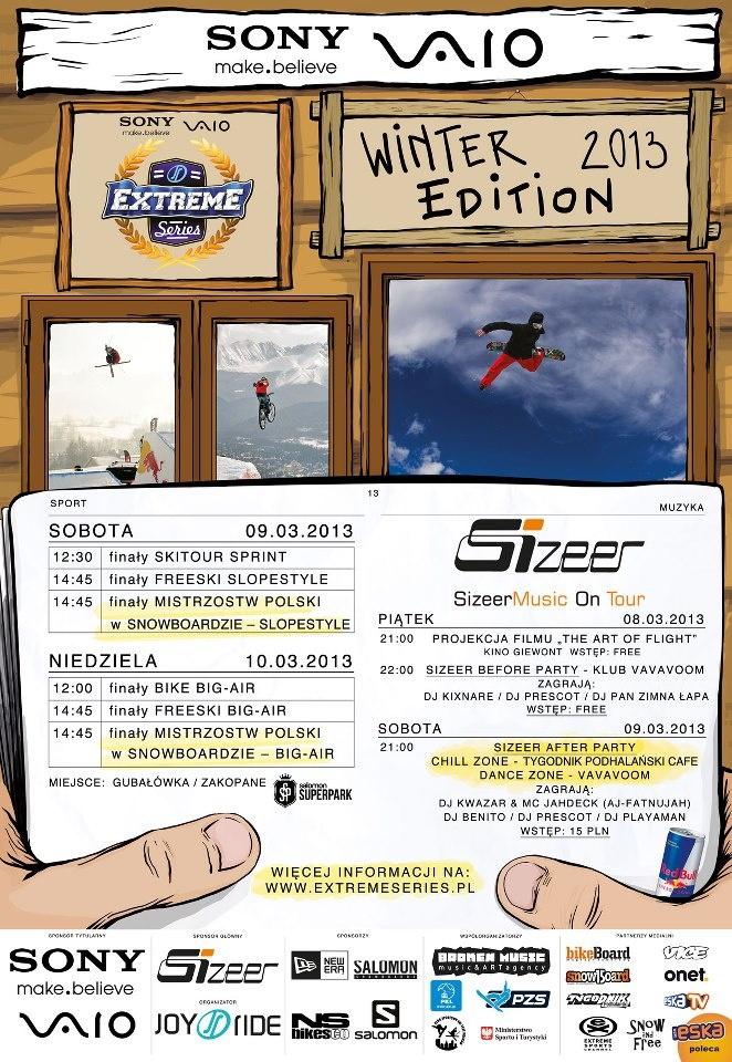 Sony VAIO Extreme Series Winter Edition – Zakopane