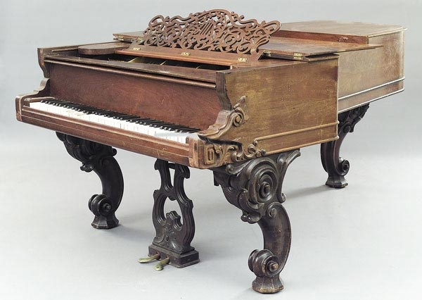710 best antique pianos images on pinterest grand pianos for Baby grand piano height