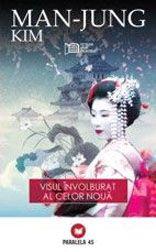 Kim Man-Jung (1637-1692) este unul dintre marii scriitori clasici coreeni. Provenit dintr-o familie de carturari, el insusi ajungand inalt functionar, cade in dizgratie si este exilat, in 1689, pe o insula in extremitatea sudica a tinuturilor coreene. Acolo va scrie Visul involburat al celor noua, un roman a carui actiune se petrece in China.