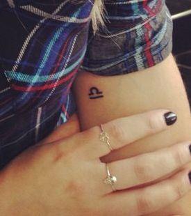 Libra tattoo for jocelyn