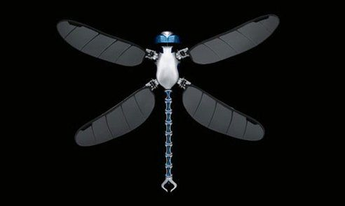 New dragonfly drone can be controlled with a smartphone : TreeHugger