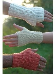 Fingerless mitts ~ This is an awesome, quick pattern...I've made many of these for last minute gifts!