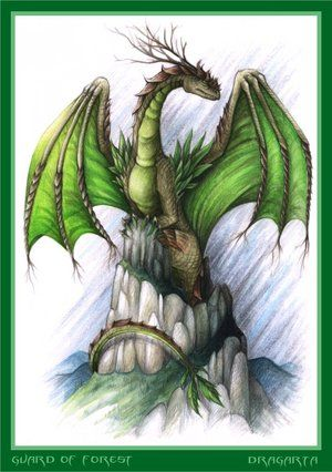 The most caring of all the Dragons, it was always rare to see her fight. She would guard the wildlife like a mother guarding her young as she also watched over all plant life as well that were part of the Wood Force. While she was very peaceful, her motherly wrath was one to be reckon with. Always one to help the other Dragons if problem rose.