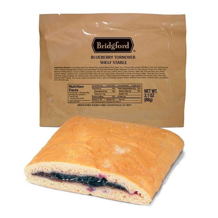 MRE Blueberry Turnover Sandwich