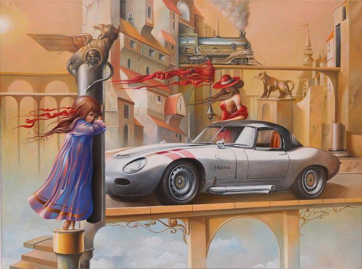 Μυστηριώδες ξύπνημα με μια Τζάγκουαρ στη κίτρινη πόλη - 2013