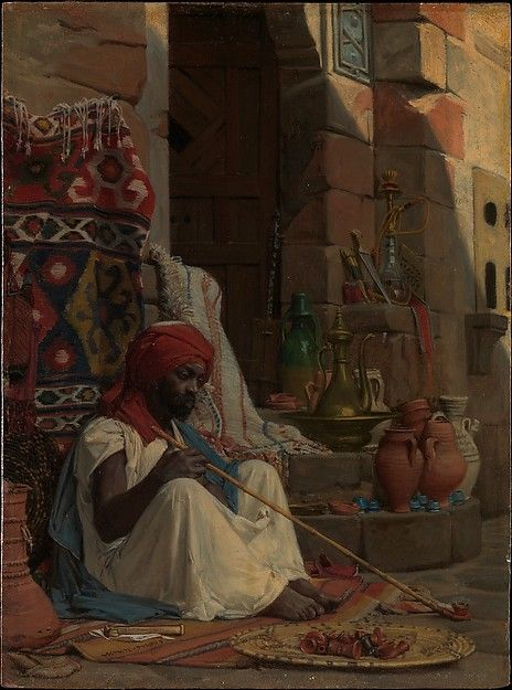 Jean Lecomte du Nouÿ | A Merchant in Cairo | The Met