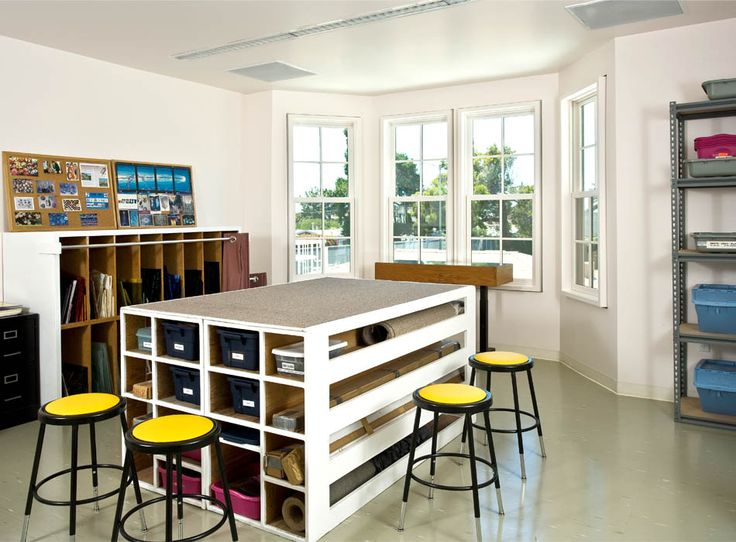 Classroom Design Inspiration ~ Best art room renovations images on pinterest