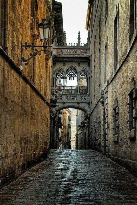 Passerelle à Barcelone