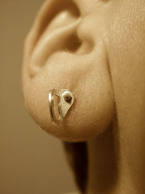Rock Climbing Bolt Hanger Earrings by CocoClimbingJewelry on Etsy