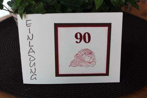 Zum 90.Geburtstag