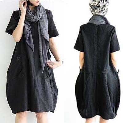 Dames linnen jurk korte- sleeve fashion oorspronkelijke ontwerp kleding alibaba china top vrouwen zomer jurken plus size c2 2015(China (Mainland))