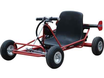 New 2013 Power Kart 24 Volt Solar Electric Go Kart ON SALE ATVs For Sale in Illinois. The 24 Volt Solar Electric Go Kart provides up to a 2 hour ride time with its integrated 4watt monocrystalline silicon solar panel on the rear wing that continuously recharges the go kart while in use. It's powered by a 16Ah 24v battery pack and 350 Watt DC motor that can reach speeds of 15mph. The solar panel can charge the go kart alone in 12 hours or with the battery charger in 4-6 hours. This go kart…