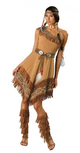 HOLY COW! Look at the length! It's about time, a costume for woman was actually decent.