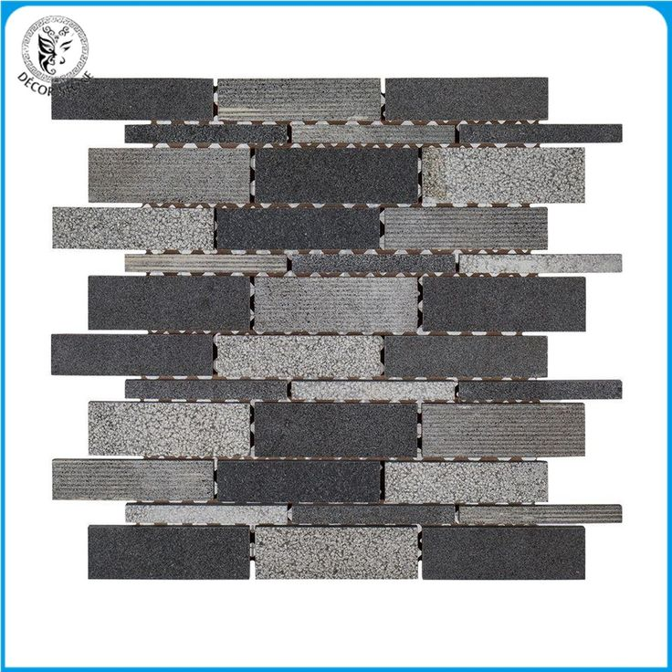 Decorstone24 Promotion Basalt Stone Mosaic Wall Tiles